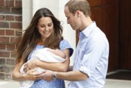 Герцог и герцогиня Кембриджские показали миру наследника