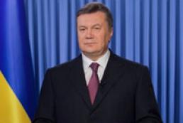 Президент поздравил украинцев с 1025-летием Крещения Руси