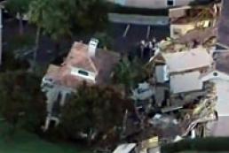 Во Флориде ушел под землю трехэтажный дом