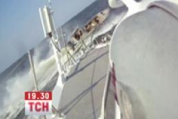 В СМИ появилось видео тарана лодки украинских рыбаков россиянами