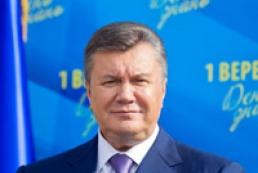 Янукович : Шевченко - один із духовних атлантів України