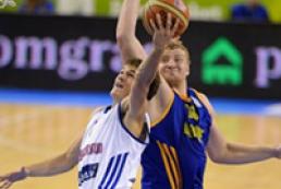 Украинские баскетболисты вышли во второй этап ЧЕ