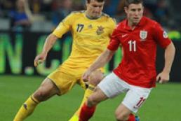 Сборная Украины сыграла вничью с англичанами