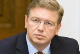 Фюле считает, что Кабмин доказал европейский выбор Украины