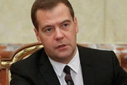 Медведєв - Україні: На двох стільцях сидіти не вдасться
