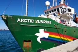 Українця з судна Arctic Sunrise звинуватили у піратстві