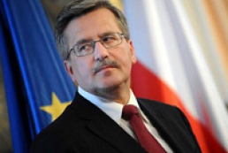 Коморовский надеется на успех Украины в Вильнюсе
