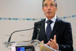 Расмуссен: Двери ЕС и НАТО открыты для Украины