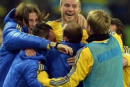 Сборная Украины победила Польшу