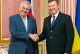 Президент Чехії позитивно оцінює створення антирейдерської комісії