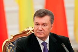 Янукович про боротьбу з корупцією: Ми не сидимо, склавши руки