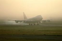 Через туман рейси з Жулян переносяться в «Бориспіль»