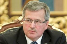 Коморовский призвал Украину преодолеть «последний барьер» на пути к ЕС