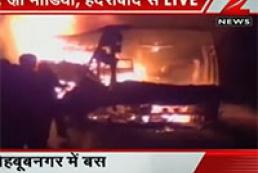 Associated Press: В Индии погибли 40 пассажиров автобуса