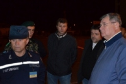 Крымские спасатели потушили пожар на молдавском судне