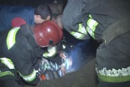 Во Львове спасли мужчину, упавшего на металлический штырь