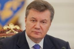 Янукович закликав до побудови європейської України