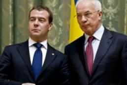 Азаров и Медведев подтвердили обязательства по транзиту газа