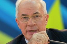 Азаров про асоціацію з ЄС: Плани не змінюються