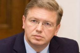 Фюле натхненний рішучістю Януковича щодо євроінтеграції