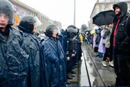Милиция не будет разгонять митинг на Майдане