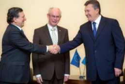 Янукович: Украина остается на пути евроинтеграции
