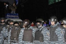 Милиция разогнала митинг на Майдане