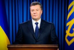 Янукович закликає відстояти Україну на політичній карті Європи і світу