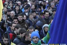 Митингующие захватили КГГА и Дом профсоюзов