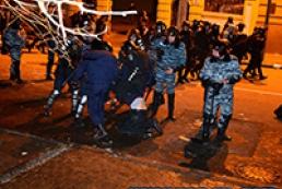 В киевских больницах находятся более сотни протестующих