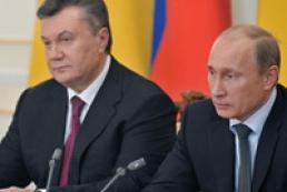 Янукович с Путиным обсудили в Сочи будущий договор