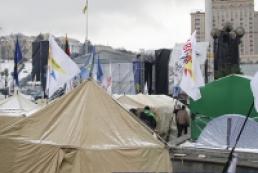 Милиция: В массовых акциях в Киеве принимают участие около 50 тысяч человек