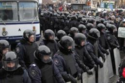 В МВД объяснили, зачем усилили охрану в центре Киева