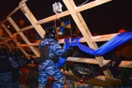 В МВД не исключают, что опять будут расчищать Майдан от баррикад