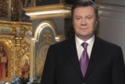 Президент поздравил украинцев с Рождеством, призвав искать путь к миру и любви