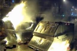 Euronews: В испанском Бургосе произошли стычки граждан с полицией