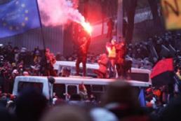 Милиция открыла уголовное производство по факту массовых беспорядков в центре Киева