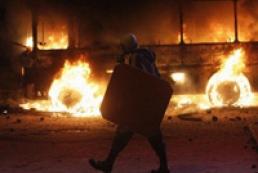 МВД призывает граждан покинуть улицу Грушевского