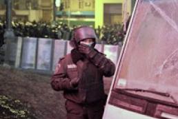 После столкновений в Киеве госпитализирован 61 милиционер