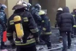 При пожаре возле улицы Грушевского эвакуированы четыре человека