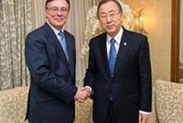 Генсек ООН высоко оценил действия власти по разрешению кризиса в Украине