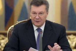 Янукович: Потрібно сказати «ні» екстремізму і радикалізму