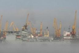 В Україні через туман з обмеженнями працюють сім морських портів