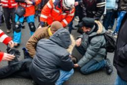 Драка в центре Киева закончилась госпитализацией пяти человек