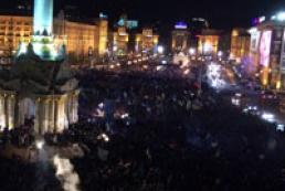 На Майдане началось противостояние
