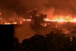 «Беркут» снова атаковал баррикады на Майдане