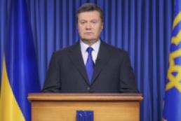 Президент закликав опозицію сісти за стіл переговорів