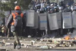 МВД призывает граждан не ездить в центр Киева