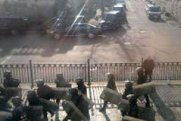 Правоохранители полностью сняли кордоны вокруг Администрации Президента