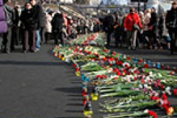 Хроника событий в центре Киева
